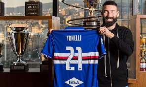 UFFICIALE - Lorenzo Tonelli ha firmato con la Sampdoria, prestito con obbligo di riscatto: il comunicato [FOTO]