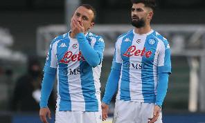 Il disastro Napoli e la desolazione degli uomini di Gattuso: le emozioni di Verona-Napoli 3-1 [FOTOGALLERY CN24]