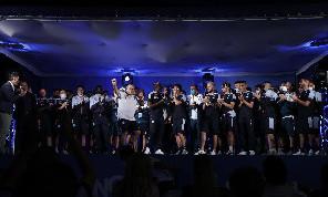 SSC Napoli, presentazione squadra a Dimaro 2021- Spalletti: Il ritorno dei tifosi è il miglior colpo di mercato! Santoro è <i>tornato a casa</i>