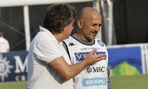Spalletti lavora per arricchire il background tattico del Napoli, c'è una variante rispetto al 4-2-3-1 che ha provato ieri