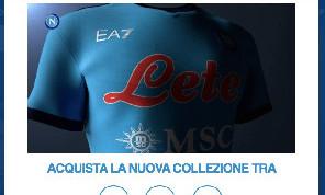 Collezione EA7-Napoli, domani dalle 10 sarà disponibile tutto il materiale! Countdown sul sito azzurro