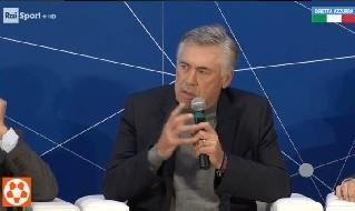 Ancelotti: All'estero sono avanti per strutture ed ambiente: non ti insultano come fanno in Italia, dobbiamo imparare l'educazione allo sport. Il talento senza collettivo non fa la differenza
