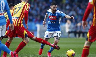 Politano: Vogliamo arrivare in Europa, Gattuso ci mette l'anima. I tifosi del Napoli sono molto calorosi, sogno il primo gol in azzurro