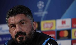 Gattuso: Rinnovo? Incontrerò De Laurentiis nei prossimi giorni, ma non c'è fretta e per me non conta nulla. Ho ancora un anno di contratto a Napoli