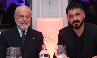 Repubblica - Gattuso-Napoli, si va verso rinnovo fino al 2023: De Laurentiis riduce la penale in caso di rescissione unilaterale
