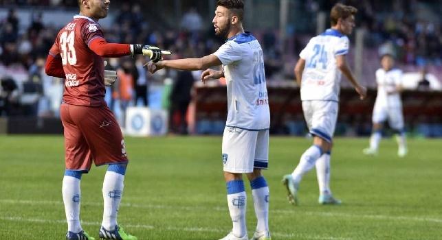 Empoli, Marchisio: Sepe ha ampi margini di miglioramento. Napoli? Se dovesse rimanere proverebbe a guadagnarsi un posto da titolare