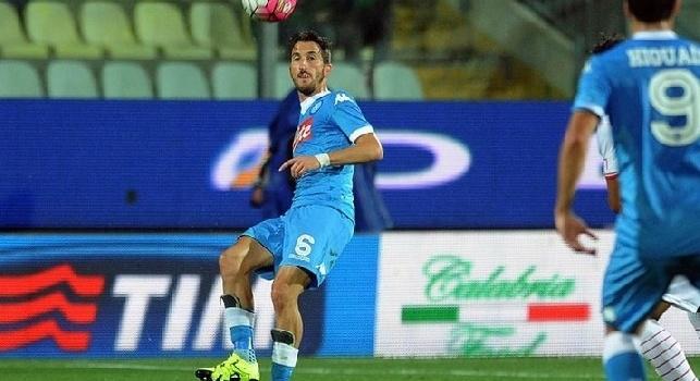 Valdifiori, l'agente: Piace a quattro italiane, ma non lascerà Napoli a gennaio. Non minacciamo come altri...