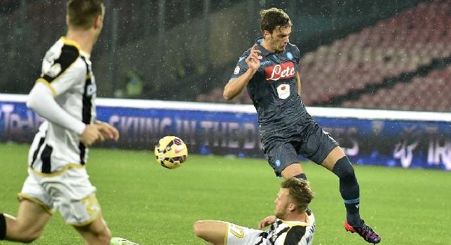 Napoli-Udinese, le probabili formazioni: Mertens parte dalla panchina. Gabbiadini insidia Callejon. Colantuono senza Di Natale irrobustisce il centrocampo