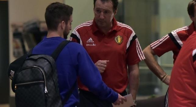 FOTO - Belgio, ecco cosa fanno Mertens e Kompany durante la pausa...
