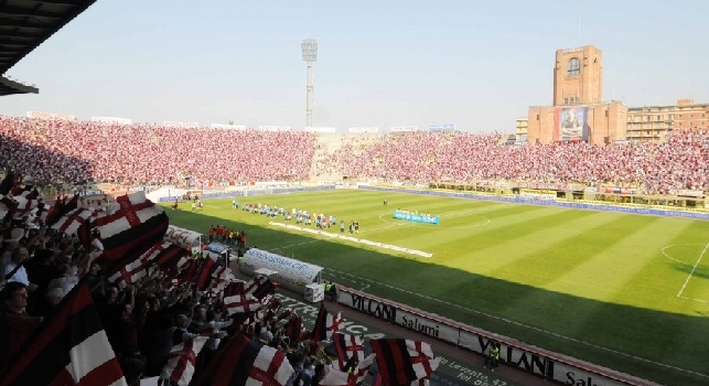 Da Bologna - Oltre 23mila tagliandi per il match al Dall'Ara, circa 5mila tifosi del Napoli