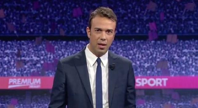 <i>Mediaset</i>, siparietto Hamsik-Marchisio. Poi la battuta di Callegari: Siete pronti per giocare insieme