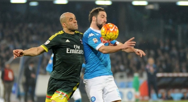 Napoli-Milan, le pagelle: Higuain <i>asfissiato</i>, Hamsik in ombra! Insigne <i>fortunato</i>, Jorginho e Ghoulam ok. Albiol, quanta sostanza