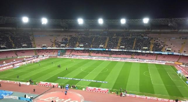 Napoli-Genoa, tifosi a sostegno della squadra al San Paolo: ecco quanti saranno