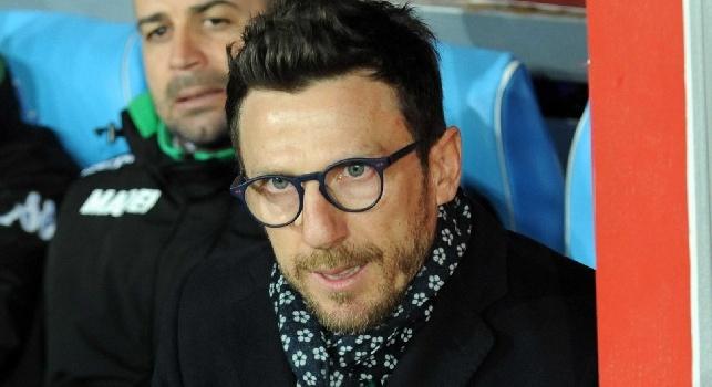 Sassuolo, Di Francesco con i soliti problemi di formazione: cinque giocatori hanno svolto differenziato