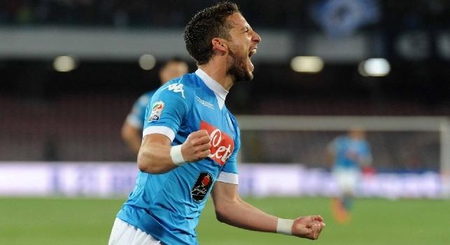 RILEGGI LIVE - Napoli-Bologna 6-0 (10', 35' rig. Gabbiadini, 58', 80', 88' Mertens, 90' Lopez): finita! Azzurri a -6 dalla Juve, + 8 sulla Roma!
