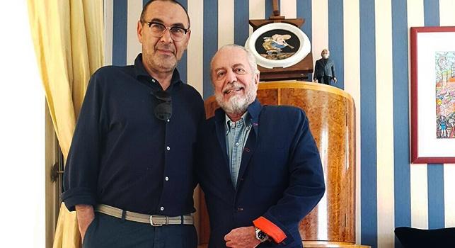 Gazzetta: Sarri e De Laurentiis fino all'altro ieri non andavano d'amore e d'accordo: è un matrimonio di legittimi interessi