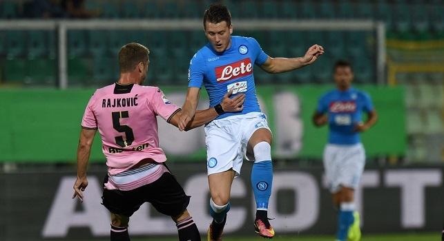 Palermo-Napoli, le pagelle: Zielinski, <i>mamma mia!</i> Milik astuto, Hamsik <i>bestia nera</i>, Callejon rende felici i <i>fanta-allenatori</i>