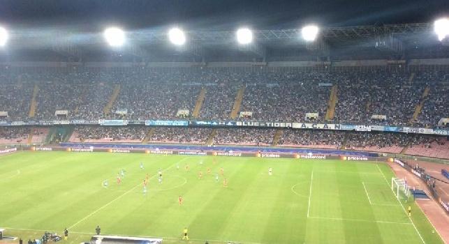 Repubblica, Tina: Napoli-Roma? Si può abbattere il muro dei 41mila al San Paolo. Occhi su Albiol e Chiriches in allenamento