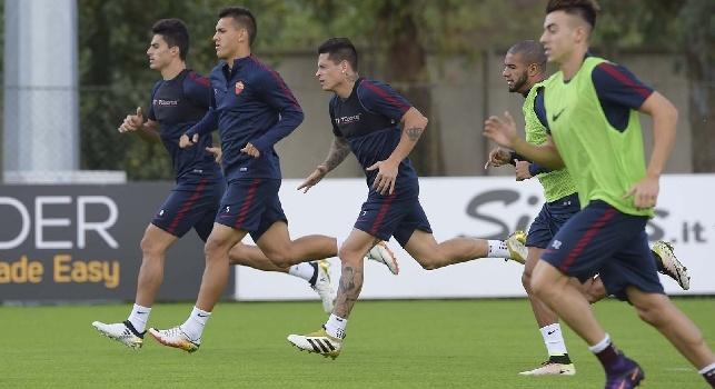 Da Roma - Doppia seduta d'allenamento in vista del Napoli, ancora differenziato per Vermaelen e Mario Rui