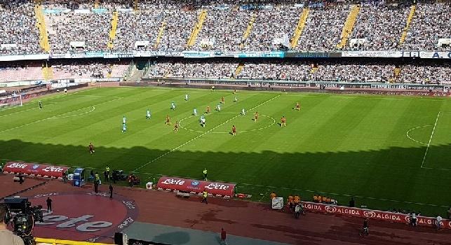 RILEGGI LIVE - Napoli-Roma 1-3 (43', 54' Dzeko, 58' Koulibaly, 86' Salah): prima sconfitta del Napoli in casa nell'era Sarri, gli azzurri crollano sotto i colpo di Dzeko e Salah