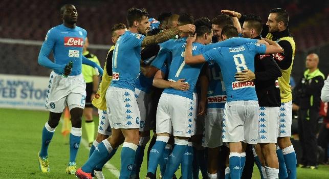 Napoli-Empoli, le pagelle: Chiriches <i>azzanna</i>, Mertens corona la numero 150! Reina ci mette la testa, Koulibaly strappa un...<i>sorriso</i>
