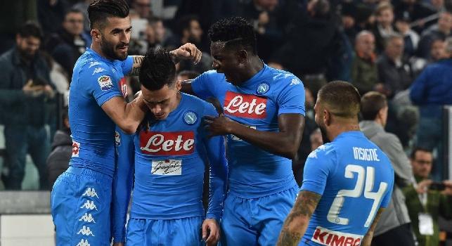 Juventus-Napoli, le pagelle: Ghoulam <i>da buttare</i>, Callejon ai limiti della <i>maleducazione</i>! Hamsik <i>sacrificato</i>, Giaccherini <i>avulso</i>
