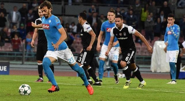 Besiktas-Napoli, i bookmakers confidano negli azzurri: ecco tutte le quote