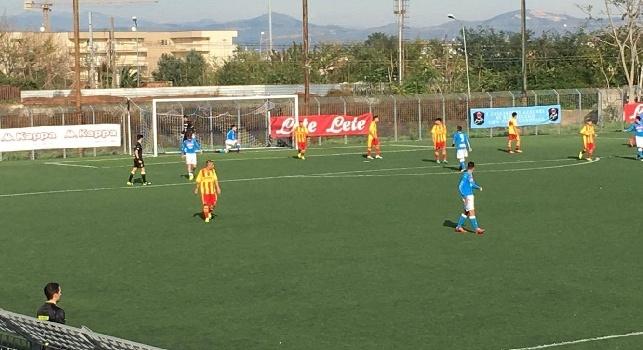 Napoli-Benevento U17, finisce 2-2 il derby campano: reti di Gaetano e Liguori