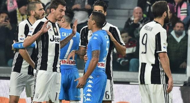 Juventus, Mandzukic Higuain e Bonucci