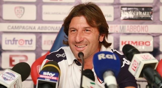 Rastelli in conferenza: Quanta qualità il Napoli! Abbiamo provato ad arginarli per 34 minuti, poi sul 3-0 sono usciti fuori i fantasmi...