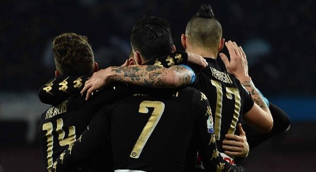 Napoli-Fiorentina, le pagelle: Insigne fa ammattire la Viola, Reina che manona! Callejon nel posto giusto al momento giusto, Hamsik ok