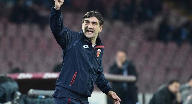 Genoa, Juric a Sky: Se la gara finiva pari era molto più giusto, il Napoli non ha creato molto! C'è rammarico, ci sono stati tanti segnali positivi