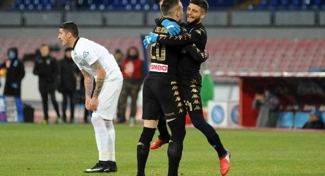 Cdm - Udinese-Napoli, posizione inedita per Zielinski. Insigne non saltava una gara da titolare dal lontano dicembre 2017