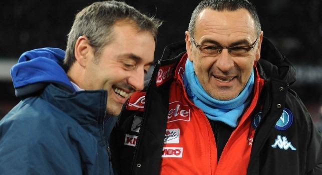 Giampaolo: Mi sarebbe piaciuto se Sarri con il Napoli avesse vinto, era la perfezione del calcio. Alla Juve farebbe bene