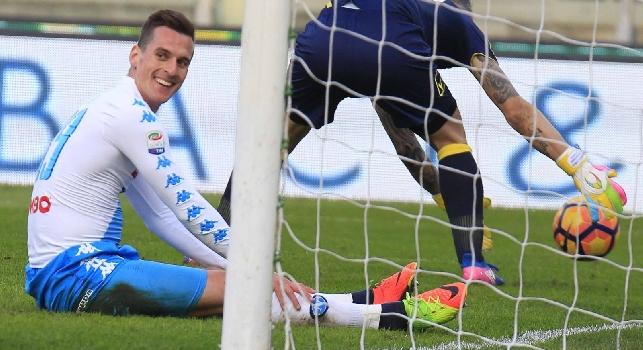 <i>Ricomincio da t(r)e...</i>: Milik <i>rivede</i> l'Atalanta un girone dopo e strizza l'occhio a Juve e Real