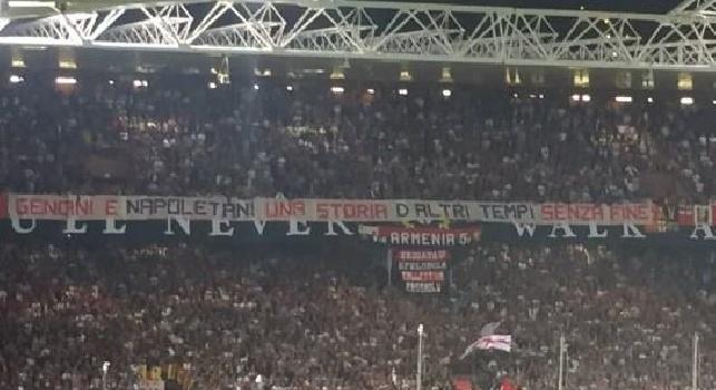 Il Genoa sconfigge la Juve a Marassi, i tifosi festeggiano cantando Un giorno all'improvviso!