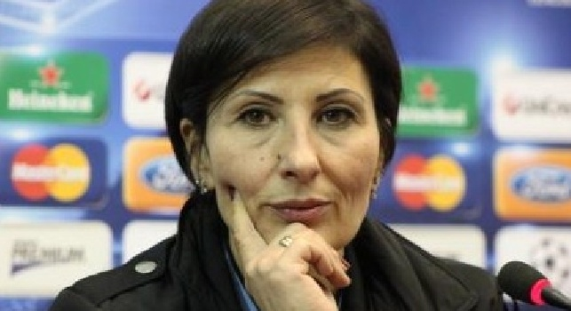 Monica Scozzafava in conferenza stampa
