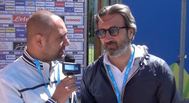 Salvatore Caiazza ai microfoni di CalcioNapoli24