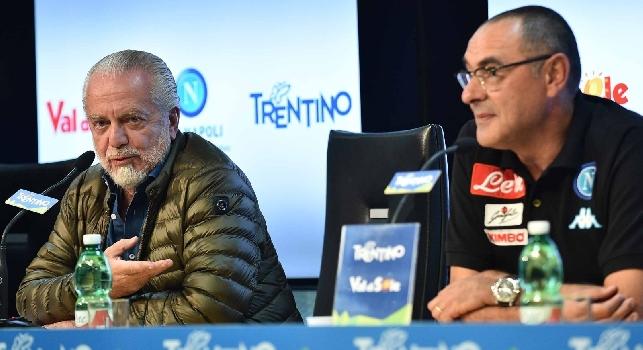Alvino: Sarri resta al 50%, sta valutando attentamente la proposta economica di ADL