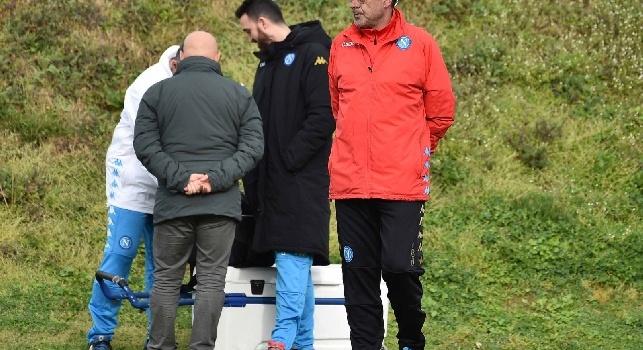 Sarri preoccupato per le palle inattive, la Lazio è tra le migliori: ieri allenamento specifico