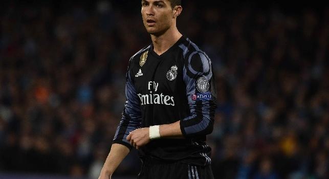 Cristiano Ronaldo in Napoli-Real Madrid