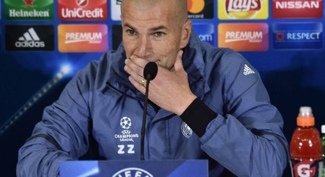 Zidane in conferenza su James Rodriguez
