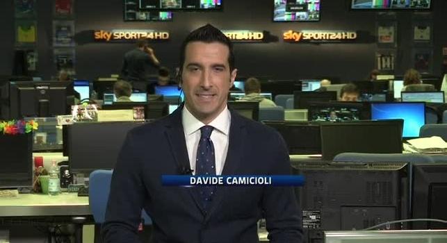 Davide Camicioli in diretta a Sky Sport