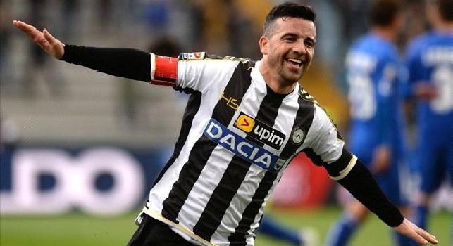Di Natale: Senza la Juve ADL avrebbe vinto tre Scudetti! Serie A più equilibrata, il Napoli avrà un vantaggio