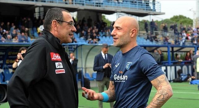 Maurizio Sarri - Massimo Maccarone in Empoli - Napoli