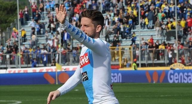 Il Mattino - Il Tianjin di Cannavaro torna su Mertens, il Napoli lavora al rinnovo: le cifre