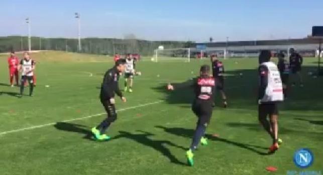 SSC Napoli, il report dell'allenamento pomeridiano: differenziato per Giaccherini e Tonelli