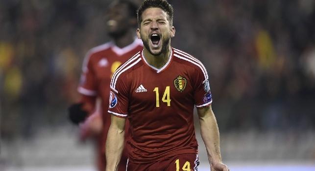 Estonia-Belgio 0-1, Mertens ci ha preso gusto: a segno anche con la Nazionale [VIDEO]