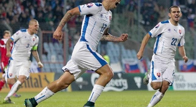 SSC Napoli: Hamsik impegnato in Nazionale questa sera contro l'Ucraina