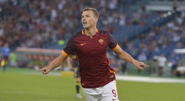 Serie A, Dzeko schiaccia l'Empoli: Roma allunga sul Napoli, la classifica